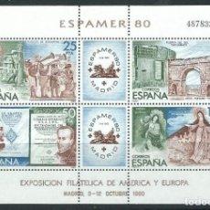 Sellos: ESPAÑA 1980 ESPAMER 80 EDIFIL 2583. Lote 194316661