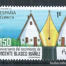 Sellos: R13.G8/ ESPAÑA NUEVOS /**/ 2017, VICENTE BLASCO IBÁÑEZ. Lote 80004229