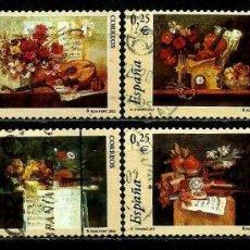 Sellos: ESPAÑA 2002- EDI 3925/32 (SERIE-LA MUSICA) USADOS. Lote 101151674