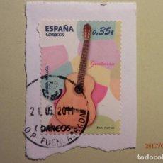 Sellos: 2011 - INSTRUMENTOS MUSICALES - GUITARRA - EDIFIL 4628. Lote 80137761