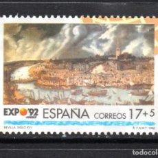 Sellos: ESPAÑA SH 3191** AÑO 1992 - EXPO 92, EXPOSICION UNIVERSAL DE SEVILLA, LA ERA DE LOS DESCUBRIMIENTOS. Lote 80170641