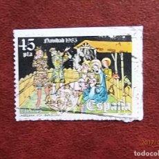 Selos: 1985 - NAVIDAD - EDIFIL 2819 - MUSEO DIOCESANO DE VICH. Lote 80303909