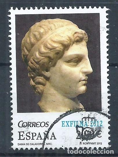 R15/ ESPAÑA USADOS 2012, EDF. 4746, EXFILNA 2012 (Sellos - España - Juan Carlos I - Desde 2.000 - Usados)