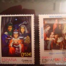 Sellos: SELLOS ESPAÑA NAVIDAD 2006 DE 0,53 Y 0,28 € NUEVOS. Lote 80884695