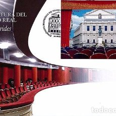 Sellos: SPAIN 2017 - REOPENING OF THE TEATRO REAL FDC - FIRST DAY COVER. Lote 111513210