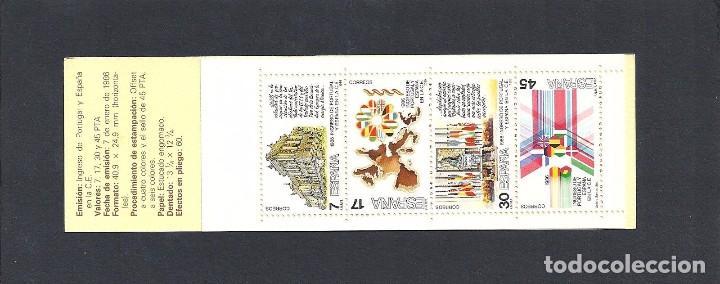1986 INGRESO CE CARTERA MNH** (Sellos - España - Juan Carlos I - Desde 1.986 a 1.999 - Nuevos)