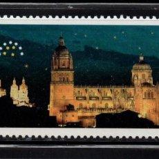 Sellos: ESPAÑA 3813** - AÑO 2001 - SALAMANCA 2002 - CAPITAL EUROPEA DE LA CULTURA. Lote 112843890