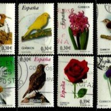 Sellos: ESPAÑA 2007- EDI 4300/07 (SERIE-FLORA Y FAUNA) USADOS. Lote 82496568
