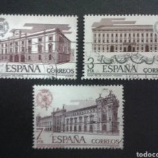 Sellos: SELLOS DE ESPAÑA. EDIFIL 2326/28. SERIE COMPLETA USADA. 1976. ADUANAS.. Lote 82680539