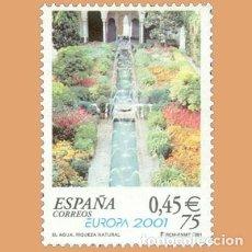 Selos: NUEVO - EDIFIL 3796 SIN FIJASELLOS - SPAIN 2001 MNH - EUROPA / M. Lote 214171083