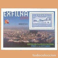 Sellos: NUEVO - EDIFIL 3816 SIN FIJASELLOS - SPAIN 2001 MNH - EXFILMA 2001 / M. Lote 244599250