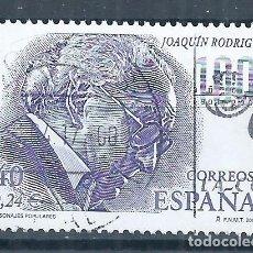 Sellos: R15/ ESPAÑA USADOS 2001, EDF. 3783, PERSONAJES POPULARES. Lote 83521964