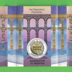 Sellos: EDIFIL 5084 H.B. PATRIMONIO MUNDIAL DE LA UNESCO - ACUEDUCTO DE SEGOVIA (2016).** NUEVO SIN FIJASELL. Lote 84103880