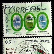 Sellos: ESPAÑA 2012- EDI 4696/98 (VALORES CIVICOS) USADOS. Lote 89455914