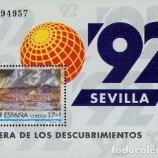 Sellos: [CF1082] ESPAÑA 1992, HB EXPO'92 SEVILLA (MNH). Lote 66980106