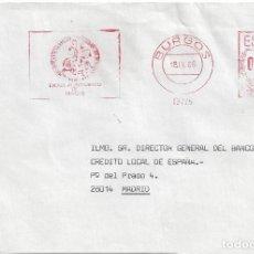 Sellos: CARTA FRANQUEO MECANICO AYUNTAMIENTO BURGOS MATASELLO . Lote 85213600