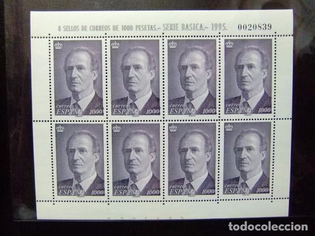 ESPAÑA 1995 JUAN CARLOS I (REY DE ESPAÑA ) EDIFIL MP 50 ** YVERT 3403 ** MNH (Sellos - España - Juan Carlos I - Desde 1.986 a 1.999 - Nuevos)