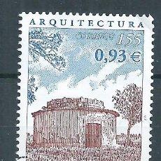 Sellos: R16.B1/ ESPAÑA USADOS 2001, EDF. 3799, ARQUITECTURA. Lote 85900736