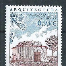 Sellos: R16.B2/ ESPAÑA USADOS 2001, EDF. 3799, ARQUITECTURA. Lote 85900908