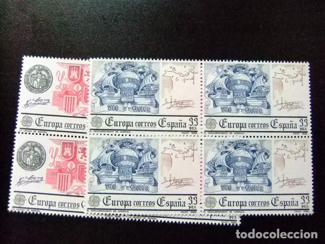 ESPAÑA ESPAGNE 1982 EUROPA ESCUDOS DE ESPAÑA DESUBRIMIENTO AMERICA EDIFIL 2657 ** YVERT N 2285** MNH (Sellos - España - Juan Carlos I - Desde 1.975 a 1.985 - Nuevos)