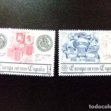 Sellos: ESPAÑA ESPAGNE 1982 EUROPA ESCUDOS DESUBRIMIENTO AMERICA EDIFIL 2657 ** YVERT N 2285 ** MNH. Lote 85945260