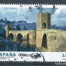 Sellos: R16/ ESPAÑA USADOS 2013, PUENTES DE ESPAÑA. Lote 87002872