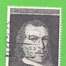 Sellos: EDIFIL 3110. DÍA DEL SELLO - RETRATO DE JUAN DE TASSIS Y PERALTA, II CONDE DE VILLAMEDIANA. (1991).. Lote 87649028