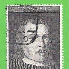Sellos: EDIFIL 3110. DÍA DEL SELLO - RETRATO DE JUAN DE TASSIS Y PERALTA, II CONDE DE VILLAMEDIANA. (1991).. Lote 87649256