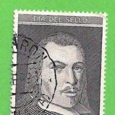 Sellos: EDIFIL 3110. DÍA DEL SELLO - RETRATO DE JUAN DE TASSIS Y PERALTA, II CONDE DE VILLAMEDIANA. (1991).. Lote 87649528