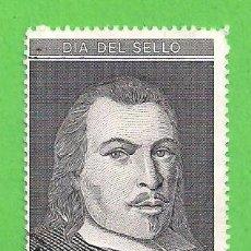 Sellos: EDIFIL 3110. DÍA DEL SELLO - RETRATO DE JUAN DE TASSIS Y PERALTA, II CONDE DE VILLAMEDIANA. (1991).. Lote 87649544