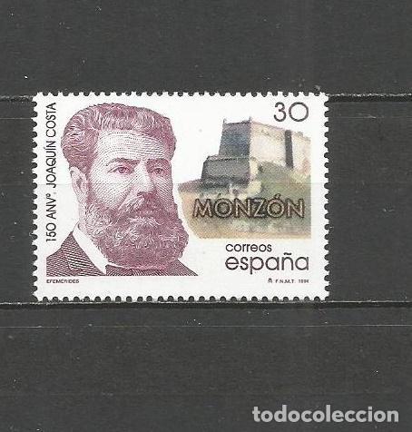 ESPAÑA 1996 JOAQUIN COSTA MONZON EDIFIL NUM. 3446 ** NUEVO SIN FIJASELLOS (Sellos - España - Juan Carlos I - Desde 1.986 a 1.999 - Nuevos)