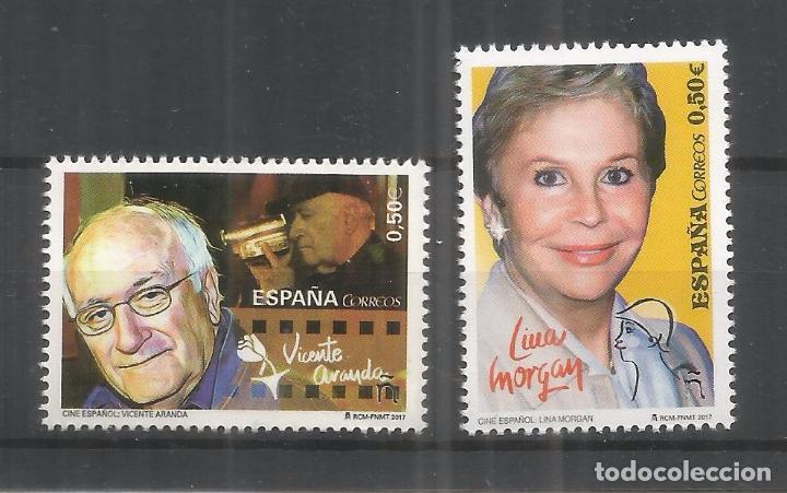 ESPAÑA LINA MORGAN VICENTE ARANDA CINE FILM ARTE (Sellos - España - Juan Carlos I - Desde 2.000 - Nuevos)