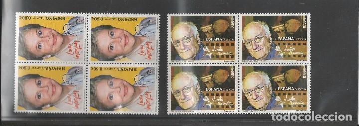 SPAIN 2017 - SPANISH CINEMA - LINA MORGAN & VICENTE ARANDA BLOCK OF 4 SET MNH (Sellos - España - Juan Carlos I - Desde 2.000 - Nuevos)