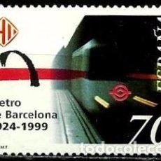 Sellos: ESPAÑA 1999- EDI 3629 (SERIE-METRO) USADO. Lote 101233850