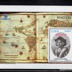 Sellos: ESPAÑA 4234** - AÑO 2006 - 5º CENTENARIO DE LA MUERTE DE CRISTOBAL COLON. Lote 89625092