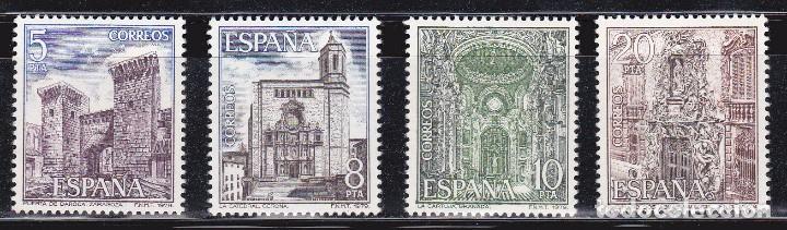 1979 - PAISAJES Y MONUMENTOS - EDIFIL 2527,2528,2529,2530 - SERIE COMPLETA**MNH (Sellos - España - Juan Carlos I - Desde 1.975 a 1.985 - Nuevos)