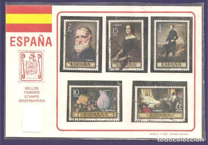 LOTE CINCO SELLOS ESPAÑA (Sellos - España - Juan Carlos I - Desde 1.975 a 1.985 - Usados)