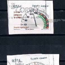 Sellos: ESPAÑA 3 SELLOS IGUALES MATASELLADOS NO TE JUEGUES LA VIDA. Lote 90664825