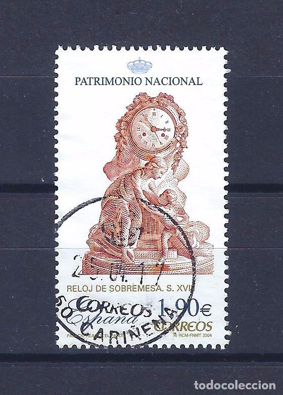 EDIFIL SH4071D PATRIMONIO NACIONAL. RELOJES. SIGLO XVIII. PALACIO REAL DE EL PARDO 2004. (Sellos - España - Juan Carlos I - Desde 2.000 - Usados)