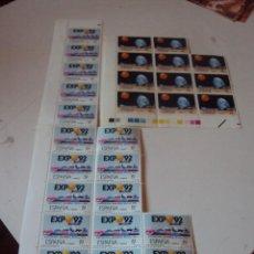 Sellos: LOTE DE 28 SELLOS NUEVOS DE LA EXPO 92. Lote 92056095