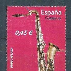 Sellos: R16/ ESPAÑA USADOS 2010, EDF. 4550, INSTRUMENTOS MUSICALES. Lote 92266390