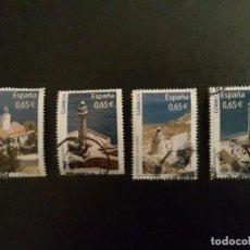 Sellos: LOTE SELLOS FAROS DE ESPAÑA - AÑO 2011. Lote 93792620