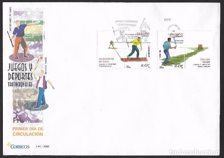 ESPAÑA - SPD. EDIFIL NSº 4415/16 (Sellos - España - Juan Carlos I - Desde 2.000 - Cartas)