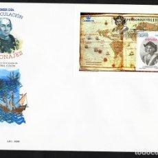 Sellos: ESPAÑA 2006 EDIFIL 4234 SOBRE - PD. V CENT. DE LA MUERTE DE CRISTÓBAL COLÓN. Lote 95292896