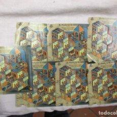 Sellos: 7 PLIEGOS LA ABADIA DEL CRIMEN, FACIAL 3.60€ CADA PLIEGO, LOS DE LA FOTO.. Lote 95762974
