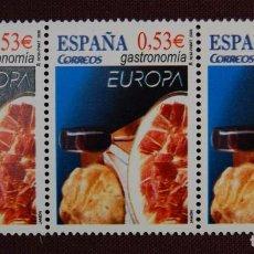 Sellos: BONITO TRIO DE SELLOS.SERIE EUROPA DEL AÑO 2006.COLOR DESPLAZADO.NUEVOS SIN FIJASELLOS.LUJO.. Lote 95595319