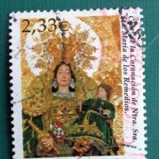 Sellos: ESPAÑA 2002, SELLO USADO CENTENARIO NUESTRA SRA. MARIA DE LOS REMEDIOS 2,33€ . Lote 95893343