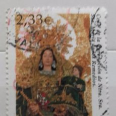 Sellos: ESPAÑA 2002, SELLO USADO CENTENARIO NUESTRA SRA. MARIA DE LOS REMEDIOS 2,33€ . Lote 95893587