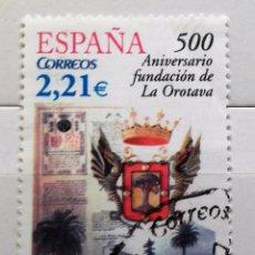 Sellos: ESPAÑA 2006, 500 ANIVERSARIO FUNDACION OROTAVA, USADO . Lote 95893843