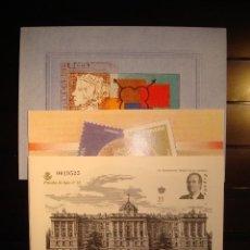Sellos: SELLOS ESPAÑA 2000 PRUEBA DE LUJO 150 ANIVERSARIO DEL PRIMER SELLO**. Lote 95955411